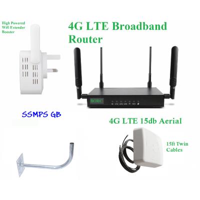 4G Broadband Bundled Kit - BORC - 14m