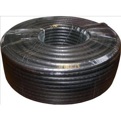 50m RG6 Satellite Cable Black