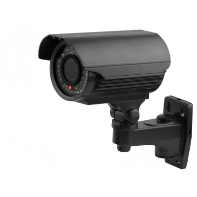 700TVL Effio-E Black HD CCTV IR 4-9mm Variable