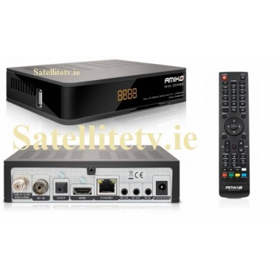 Amiko Mini Combo Extra HD Receiver Freeview, Cable TV and Satellite