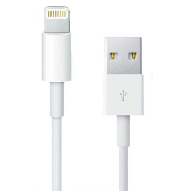 USB charge / data cable for Apple iPhone 5, 5C, 5S, 6, iPad + iPad Mini