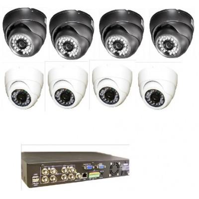 8 Camera CCTV system + 1TB DVR