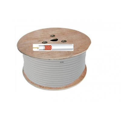 White RG59 CCTV Cable (100m)