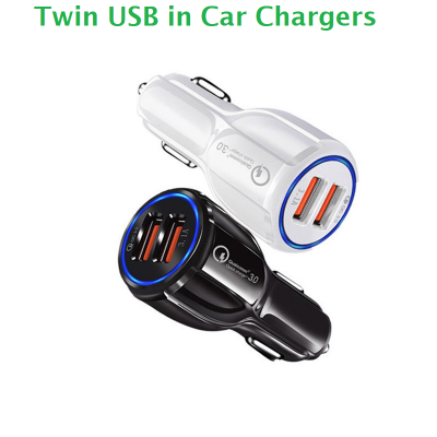 Dual USB in Car Charger OC3