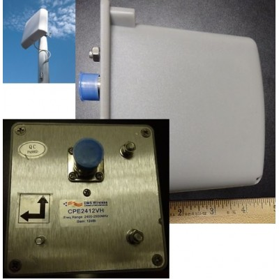 DMS Wireless CPE Panel Antenna - CPE2412VH