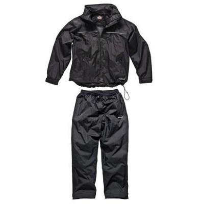 Dickies EXMOOR Breathable Black Weather Suit