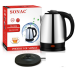 Stainless Steel Electric Kettle - Swivel Base