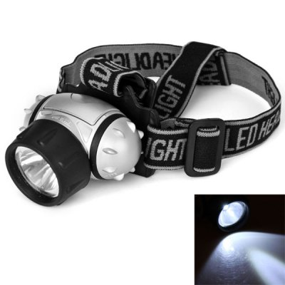 LED Head Torch 7 LEDs - Cycling - Walking - Camping