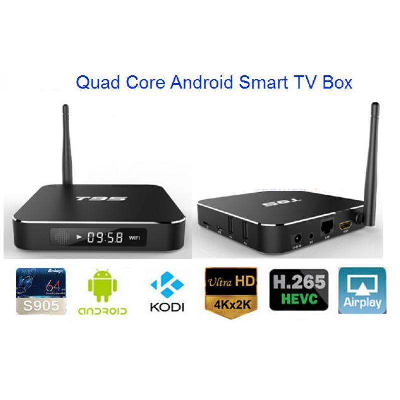 AAA T95 4K + Full HD 1080p Android TV Kodi 16.0 Quad Core STB