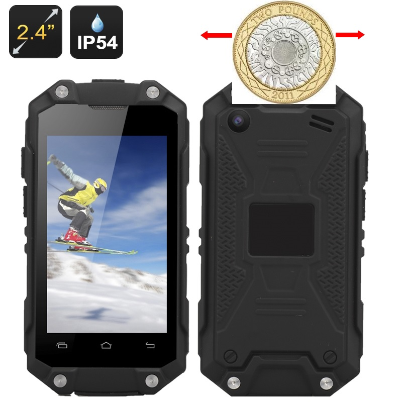 Nano Mini Tough 3G Phone - Water Resistant with Bluetooth