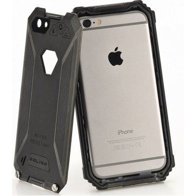 Rugged iPhone 6 Case - Black - IP68