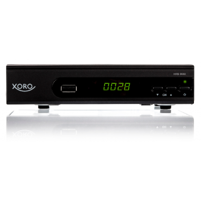 Xoro HRS 8660 HD PVR Satellite Receiver - Latest Model