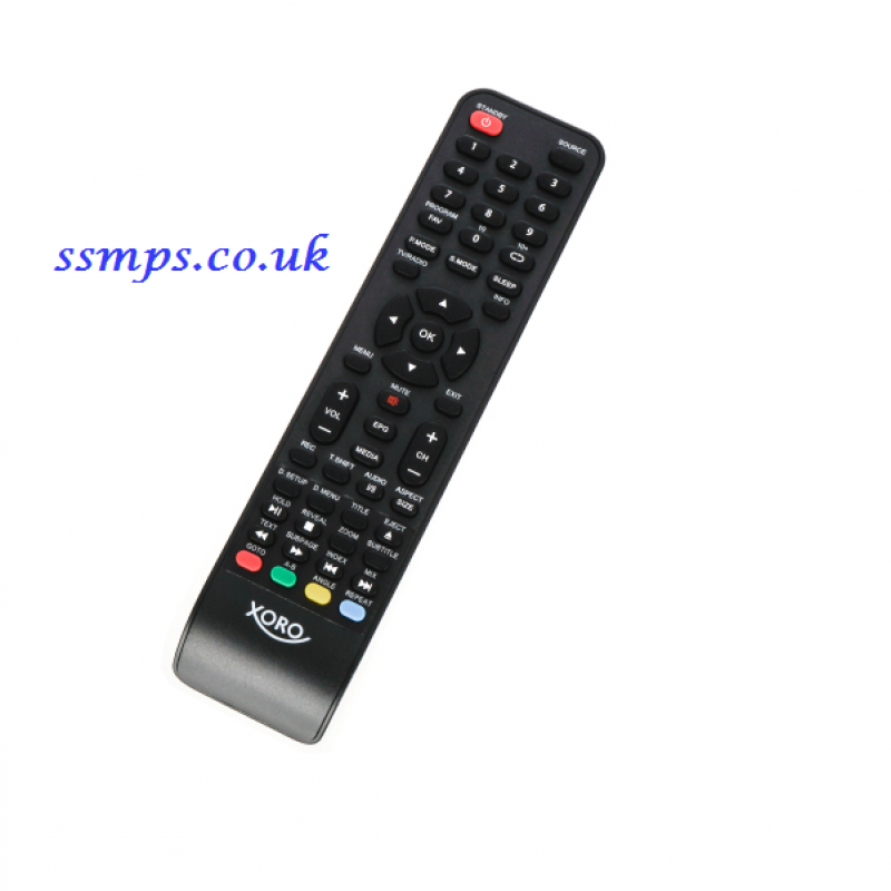 Xoro LED DVD Freeview, Cable + Satellite TV Remote Control